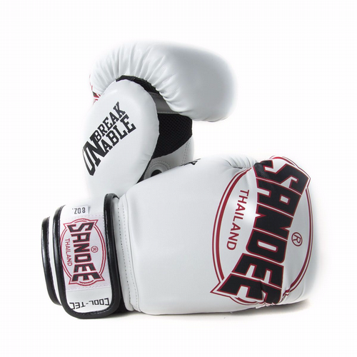 Sandee Kids Cool-tech Boxing Gloves white/red